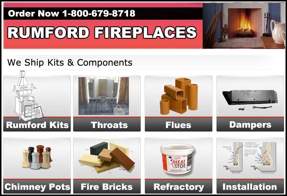 Rumford Fireplaces for sale